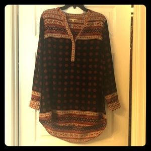 Size M peasant style blouse
